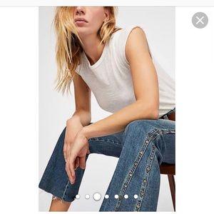 Denim - Free People Studded  Dark Denim Jeans. Size 29